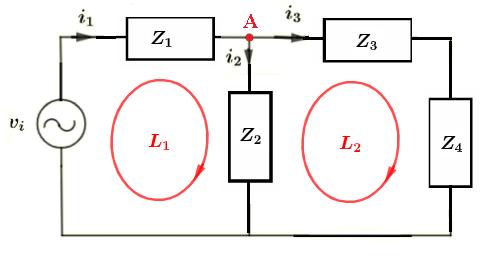 ac circuit for calculator