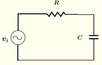 RC circuit in problem 1