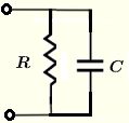 impedances of RC in parallel