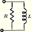 impedances of RL in parallel