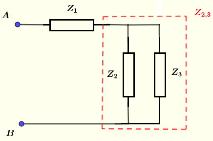 equivalent to series parallel parallel circuit