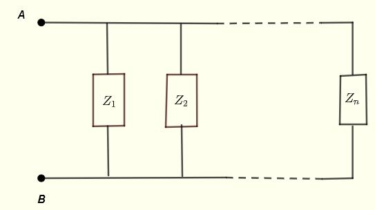 parallel impedances